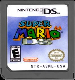Super Mario 64 DS - Cart - Front