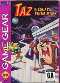 Taz in Escape from Mars