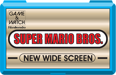 Super Mario Bros. (New Wide Screen) - Fanart - Cart - Front