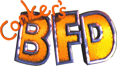Conker's Bad Fur Day - Clear Logo
