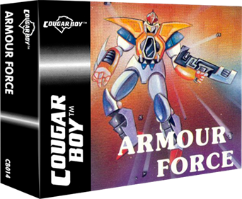 Armour Force - Box - 3D