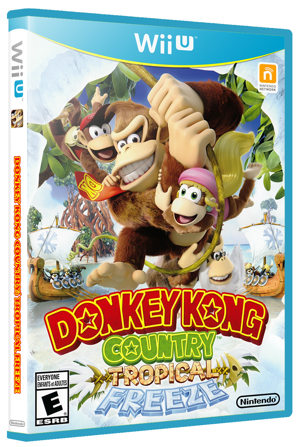 Donkey Kong Country: Tropical Freeze Details - LaunchBox ...