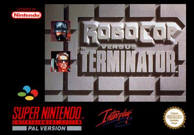 RoboCop Versus The Terminator - Box - Front