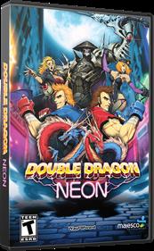 Double Dragon Neon - Box - 3D