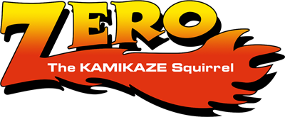 Zero the Kamikaze Squirrel - Clear Logo