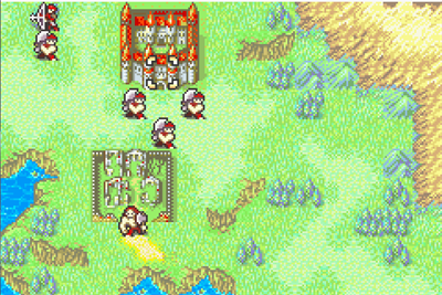 Fire Emblem: Fuuin no Tsurugi - Screenshot - Gameplay