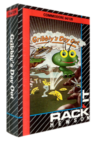 Gribbly's Day Out - Box - 3D