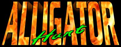 Alligator Hunt - Clear Logo