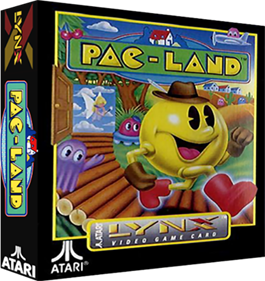 Pac-Land - Box - 3D