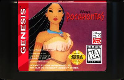 Pocahontas - Cart - Front