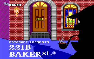 221 B Baker St. - Screenshot - Game Title