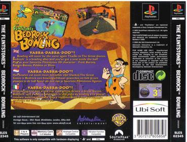 The Flintstones: Bedrock Bowling - Box - Back