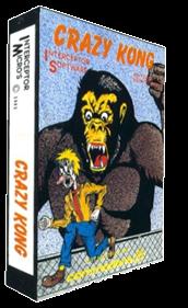 Crazy Kong - Box - 3D