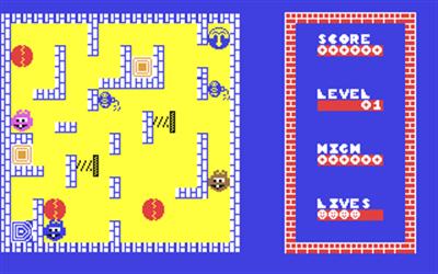 Humpty Dumpty meets the Fuzzy Wuzzies - Screenshot - Gameplay