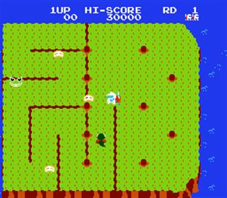 Dig Dug II: Trouble in Paradise - Screenshot - Gameplay