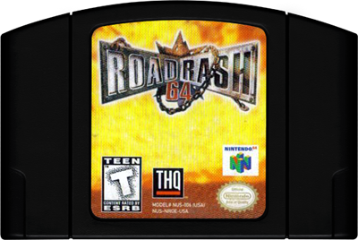 Road Rash 64 - Cart - Front
