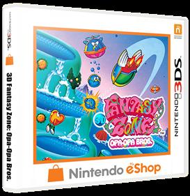 3D Fantasy Zone: Opa-Opa Bros. - Box - 3D