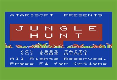 Jungle Hunt - Screenshot - Game Title