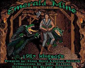 Emerald Mine 3 Professional - Screenshot - Game Title