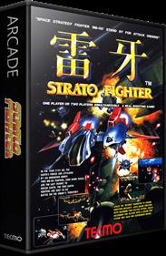 Raiga: Strato Fighter - Box - 3D