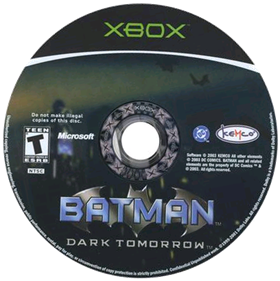 Batman: Dark Tomorrow - Disc