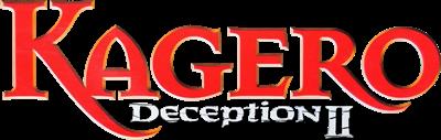 Kagero: Deception II - Clear Logo