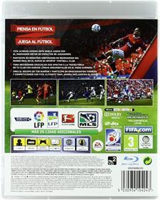 FIFA Soccer 12 - Box - Back