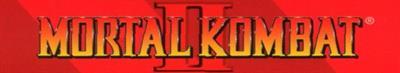 Mortal Kombat II - Banner