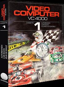 Car Races - Box - 3D
