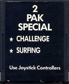 2 Pak Special Black: Challenge / Surfing - Cart - Front