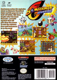 Bomberman Generation - Box - Back