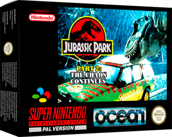 Jurassic Park Part 2: The Chaos Continues - Box - 3D