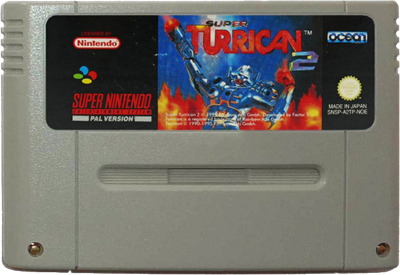 Super Turrican 2 - Cart - Front
