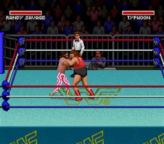 WWF Super WrestleMania - Screenshot - Gameplay