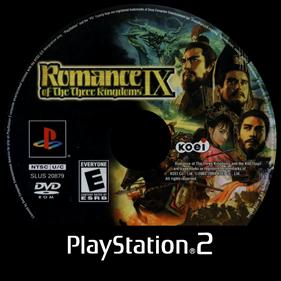 Romance of the Three Kingdoms IX - Disc