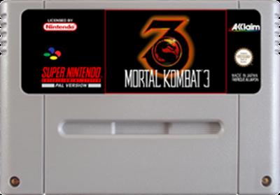 Mortal Kombat 3 - Fanart - Cart - Front