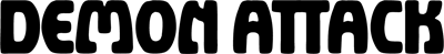 Demon Attack - Clear Logo