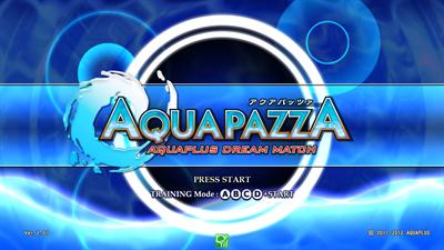 Aquapazza: Aquaplus Dream Match - Screenshot - Game Title