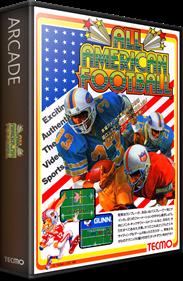 All American Football - Box - 3D