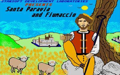 Santa Paravia and Fiumaccio - Screenshot - Game Title