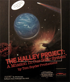The Halley Project - Box - Front