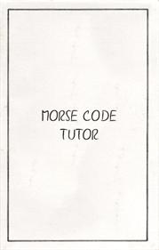 Morse Code Tutor