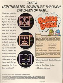 Bubble Bobble - Box - Back