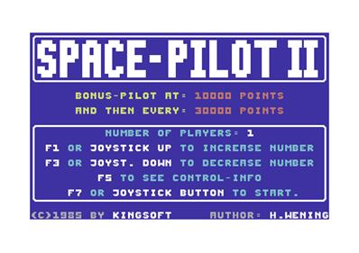 Space Pilot 2 - Screenshot - Game Select
