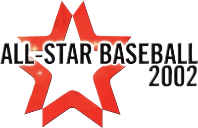 All-Star Baseball 2002 - Clear Logo