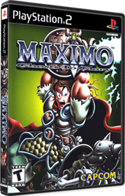 Maximo: Ghosts to Glory - Box - 3D