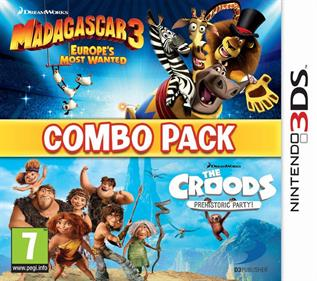 Combo Pack: Madagascar 3: Europe's Most Wanted + The Croods: Prehistoric Party!