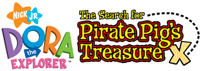 Dora the Explorer: The Search for Pirate Pig's Treasure - Clear Logo