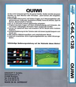 Quiwi - Box - Back