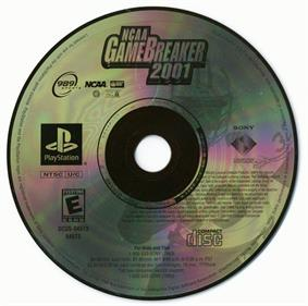 NCAA GameBreaker 2001 - Disc